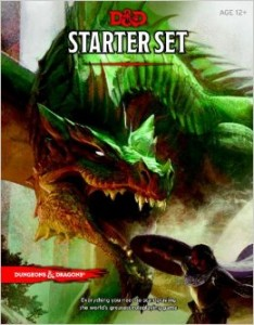 dungeons and dragons 5th editon starter box Cover