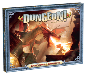 Dungeon! Board Game Box Cover