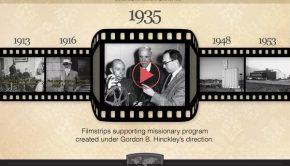 Mormon Newsroom, Church history timeline.