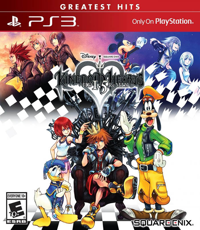 Kingdom Hearts HD 1.5 Remix Game Case