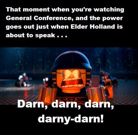 LDS Conference Memes lego movie