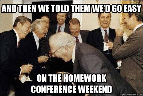 LDS Conference Memes and then I said