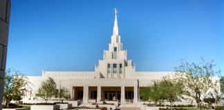 Phoenix Arizona Temple, Open House.