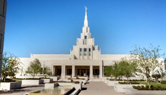 Phoenix Arizona Temple, Open House.