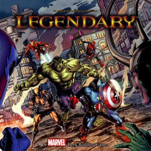 Legendary A Marvel Deck Building Game Box Cover