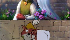 Robin Hood Photoshopped