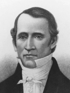 First bishop of the Church, Edward Partridge, is called, 1831