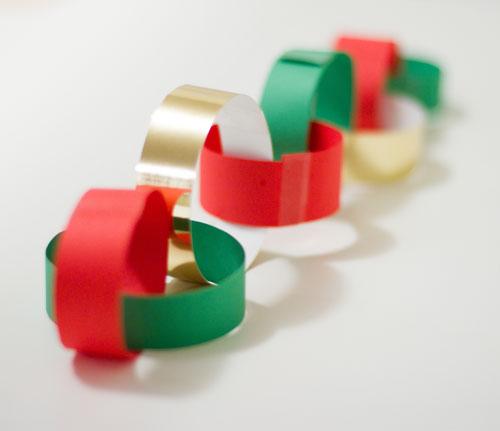 Advent Calendar Christmas Chain