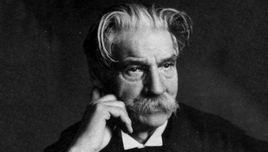 Portrait of Albert Schweitzer