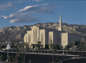 Albuquerque New Mexico Temple Dedication, 2000