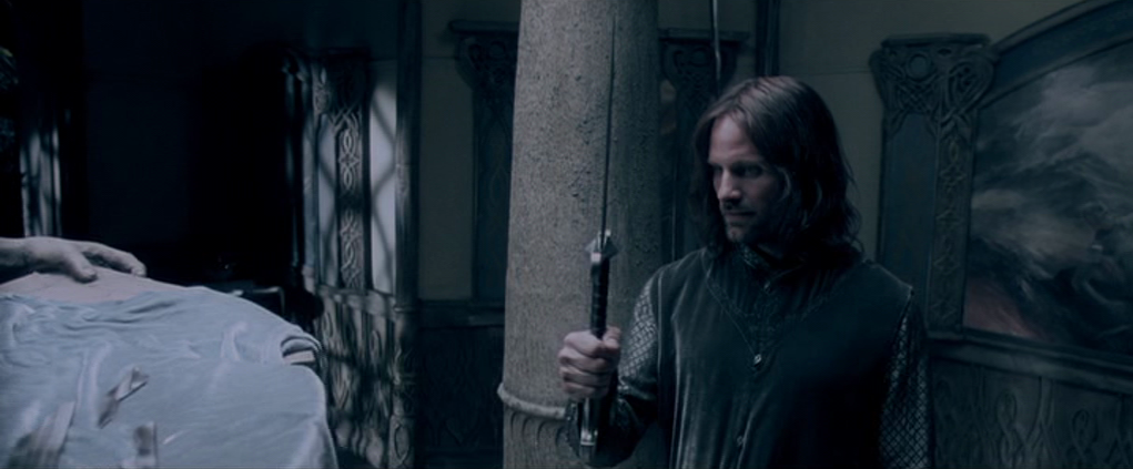 Aragorn concerned he will follow in Isildur's footsteps