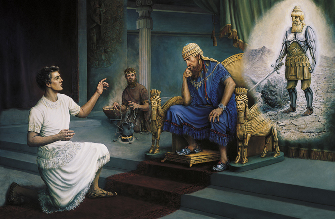 Daniel interprets King Nebuchadnezzar's dream