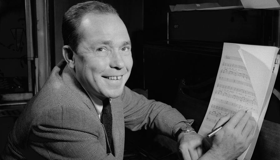 Johnny Mercer composing music