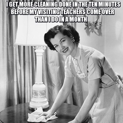 Mormon Cleaning Meme