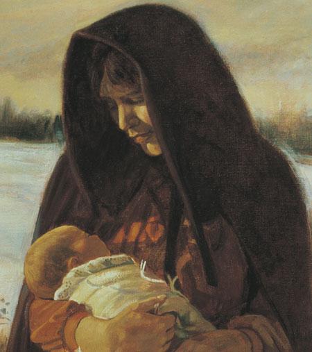 Mormon pioneer mother