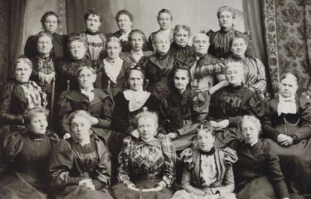 Relief Society women Mormon 1893