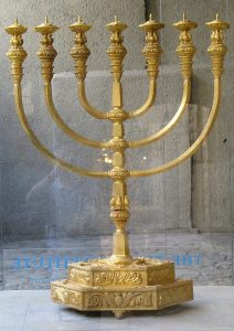 seven branched menorah