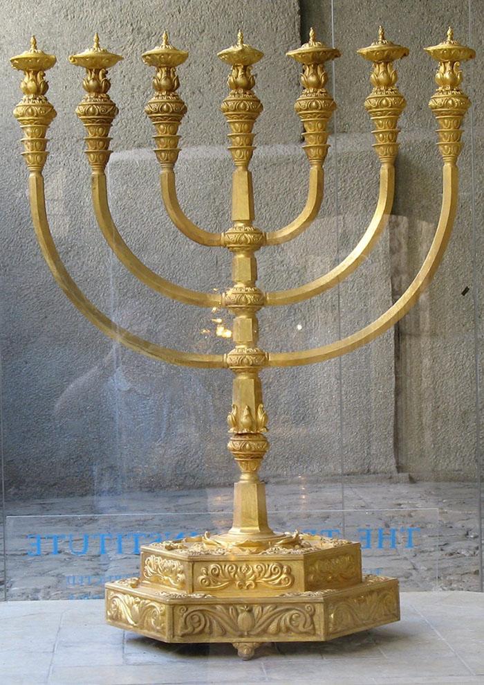 seven branched menorah