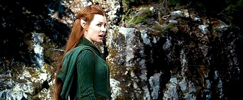 Tauriel saying it is their responsibility to fight evil