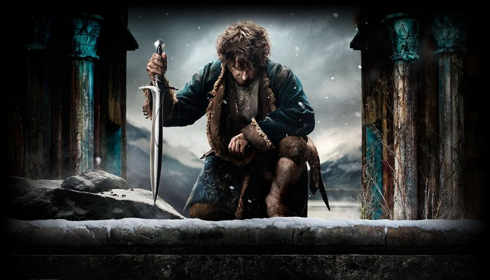 Bilbo Baggins On His Quest Of Erebor