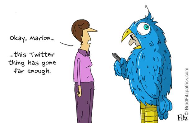 Twitter-Comic