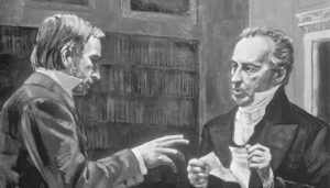 Martin Harris meets with Prof. Charles Anthon , 1828