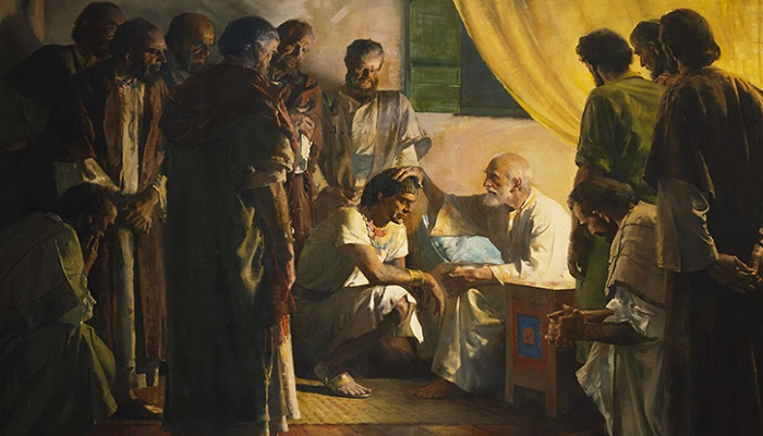 Jacob Blesses Joseph