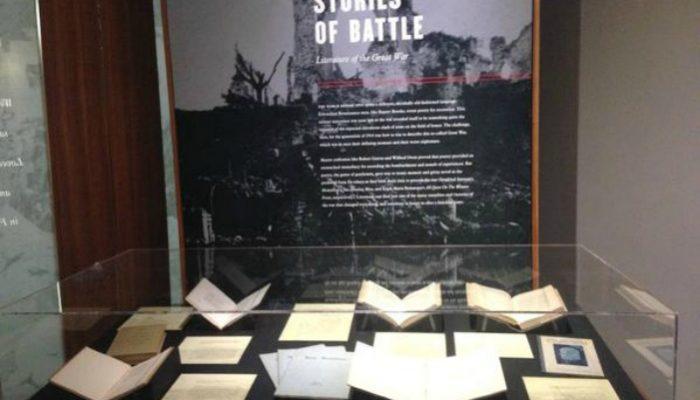 BYU exhibit WWI anniversary