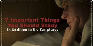 things you should study along with the scriptures