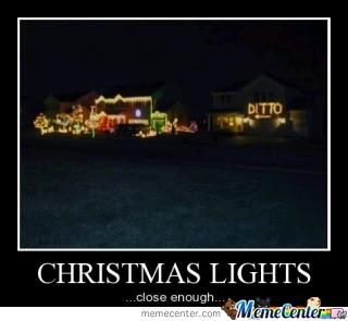 Christmas lights joke