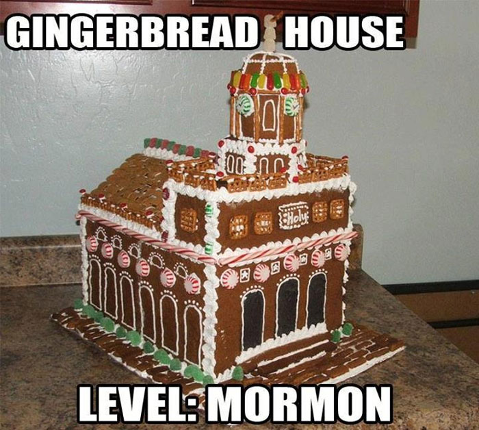 Gingerbread Temple
