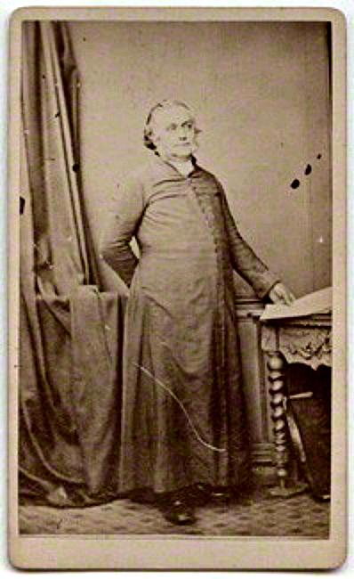 Portrait of musical composer Henry John Gauntlett