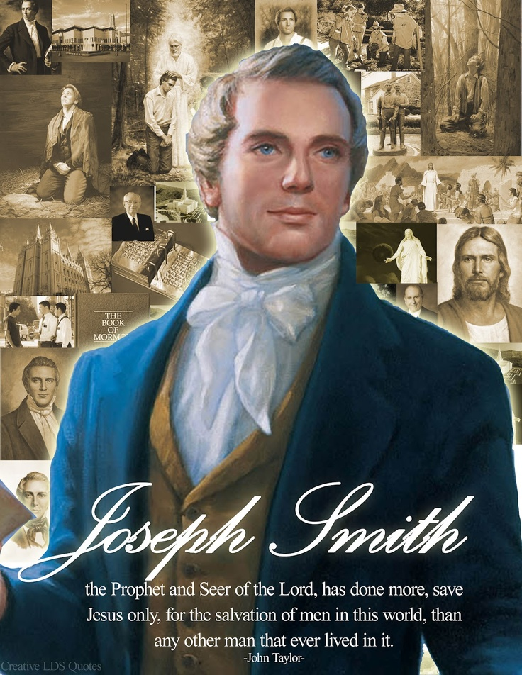 the life mission and religious leadership of joseph smith Religion 10 crazy little-known rules of mormon life  joseph smith had 34 wives,  if a member is caught criticizing the leadership,.