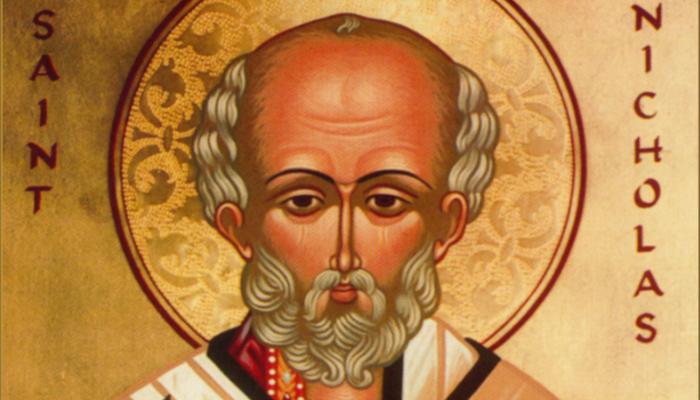 Portrait of St Nicholas