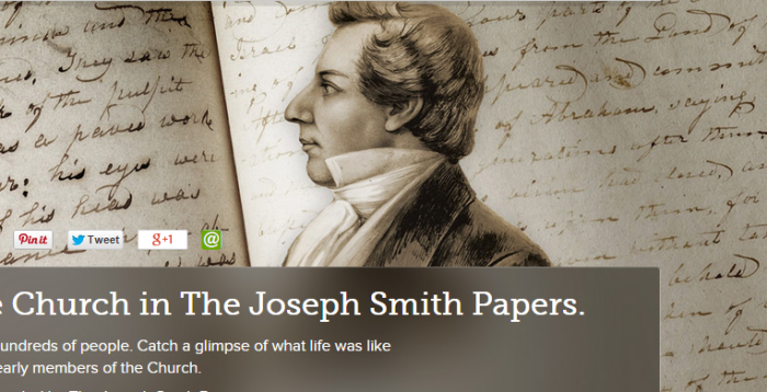 The Joseph Smith Papers