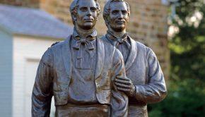 Joseph Smith Carthage Jail statue