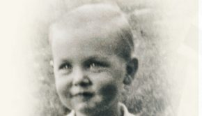 portrait of Jeffrey R. Holland as a boy