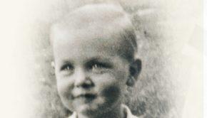 portrait of Jeffrey R. Holland as a boy