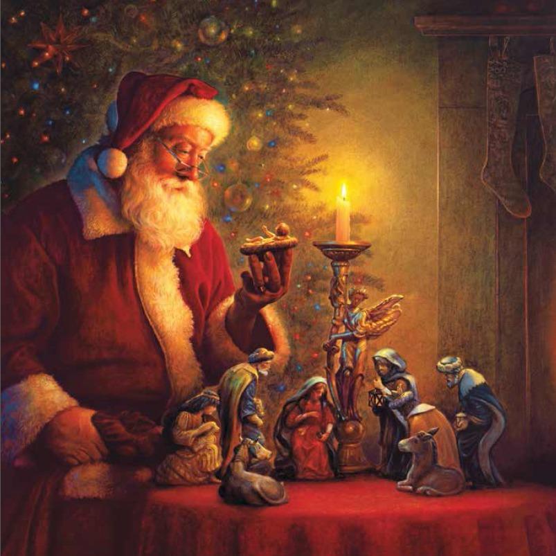 Greg Olsen Santa Claus