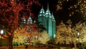 Temple Square Lights