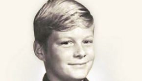 David A. Bednar as a teenager