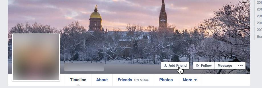 Add Friends on Facebook