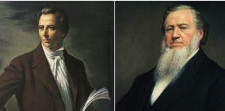 Brigham Young and Joseph Smith