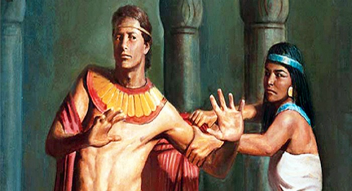 Joseph of Egypt Resisting Potphar's Wife