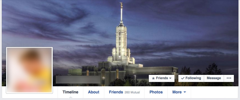 Facebook Cover Photo, Temple