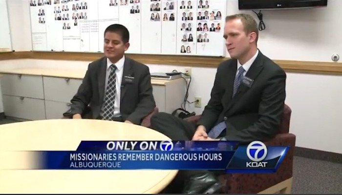 missionaries on the news