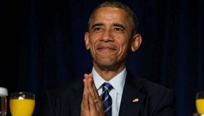Obama at prayer breakfast