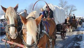 Mormon Exodus reenactment