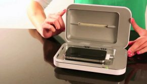 device used to sanitize cell phones