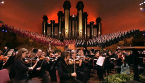 Mormon Tabernacle Choir Performance in the tabernacle